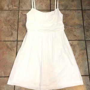 New York & Company Spaghetti Strap Short Dress